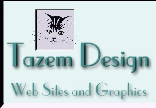 Tazem Design Logo - Web Page Design Service, Original Graphics, Free Web Graphics, Backgrounds, Borders